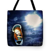 Madonna Lightens The Earth Tote Bag