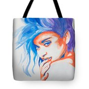 Madonna Tote Bag by Michael Ringwalt