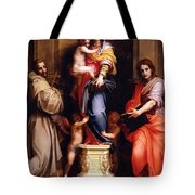 Madonna Of The Harpies Tote Bag