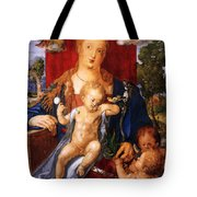 Madonna With The Siskin Tote Bag