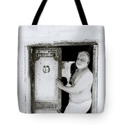 Madras Man Tote Bag