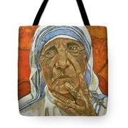 Madre Teresa Di Calcutta Tote Bag