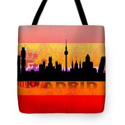 Madrid City Tote Bag