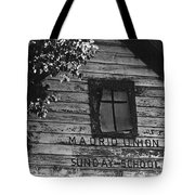 Madrid Union Sunday School Ghost Town Madrid New Mexico 1968-2008 Tote Bag