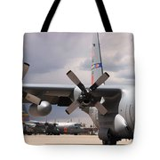 Maffs C-130s At Cheyenne Tote Bag
