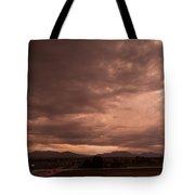 Magenta Clouds Tote Bag