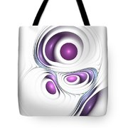 Magenta Creation Tote Bag