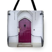 Magenta Door Tote Bag
