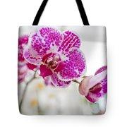 Magenta Ears Orchid Tote Bag