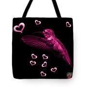 Magenta Hummingbird - 2055 F Tote Bag