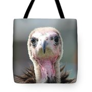 Maggee The Hooded Vulture Tote Bag