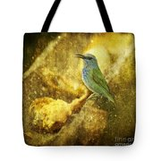 Magic At The Feeder... Tote Bag
