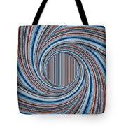 Magic Colorful Abstract Twisted Background Tote Bag