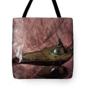 Magic Lamp Tote Bag by Garry Gay