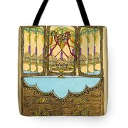 Magic Mirror - Cake  Tote Bag