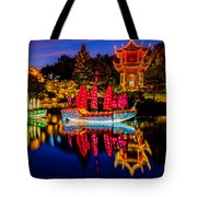 Magic Of The Lanterns Tote Bag
