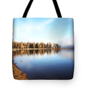 Magic On Seeley Lake Tote Bag
