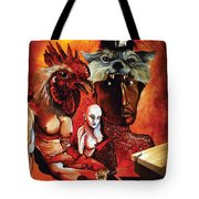 Magic Poultry Tote Bag by Otto Rapp