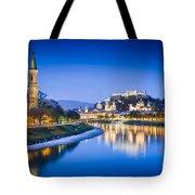 Magic Salzburg Tote Bag