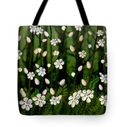 Magical Blooms Of The Deep Forest Tote Bag
