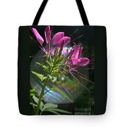 Magical Cleome Tote Bag