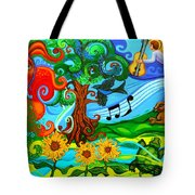 Magical Earth Tote Bag by Genevieve Esson
