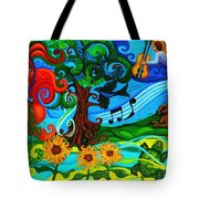 Magical Earth II Tote Bag by Genevieve Esson