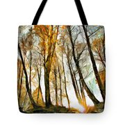 Magical Forest - Drawing Tote Bag