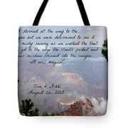 Magical Moments Tote Bag