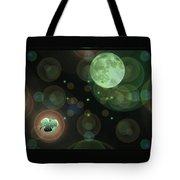 Magical Moonlight Clover Tote Bag