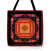 Magical Rune Mandala Tote Bag
