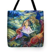 Magical Storybook Tote Bag by Jen Norton