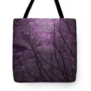Magically Violet Night Sky Tote Bag
