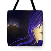 Magican Tote Bag by Sandra Hoefer
