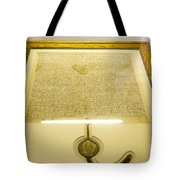 Magna Carta Tote Bag