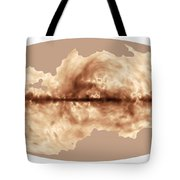 Magnetic Field Of Milky Way Galaxy Tote Bag