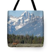 Magnificent Elk Tote Bag