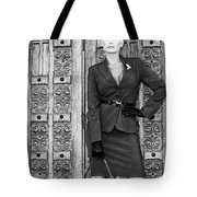 Magnificent Obsession Bw Palm Springs Tote Bag by William Dey