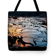 Magnificent Rice Terrace Tote Bag