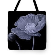 Magnificent Simplicity Cyan Tote Bag