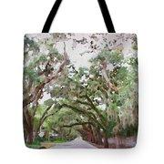 Magnolia Avenue Tote Bag