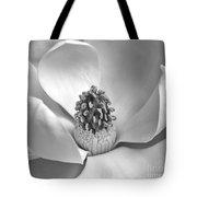 Magnolia Bw Tote Bag