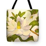 Magnolia Cluster Tote Bag