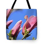 Magnolia Flowers Tote Bag