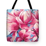 Magnolia Medley Tote Bag
