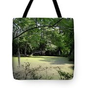 Magnolia Plantation Bridge Tote Bag