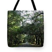 Magnolia Plantation Road Tote Bag