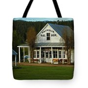 Magnolia Saloon Tote Bag