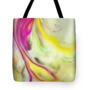 Magnolia Watercolor Abstraction Painting Tote Bag