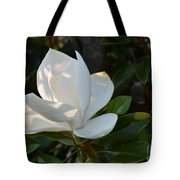 Magnolia With Best Bud Tote Bag